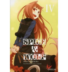 Spice & wolf Tome 4 - Light Novel