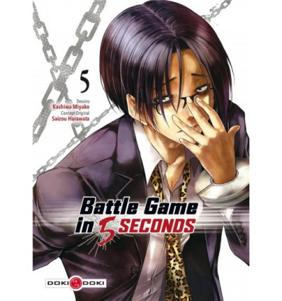 Battle game in 5 secondes Tome 5