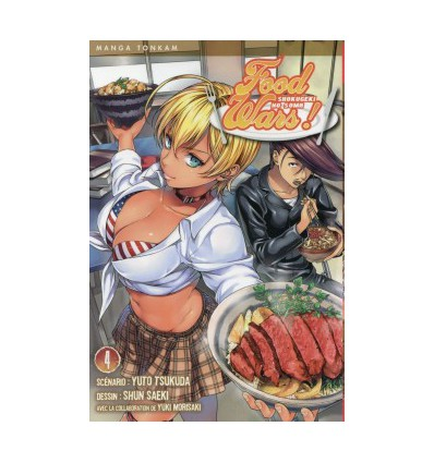 Food Wars ! Tome 4