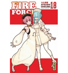 Fire force Tome 18