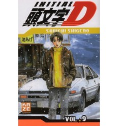 Initial D Tome 9
