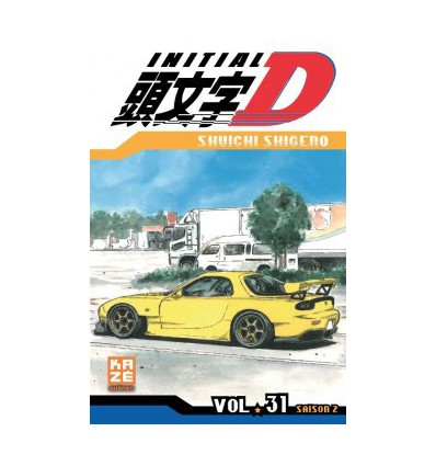Initial D Tome 31