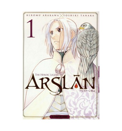 The Heroic Legend of Arslân Tome 1