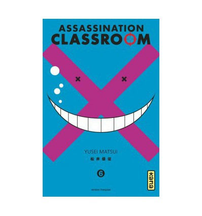 Assassination Classroom Tome 6