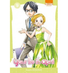 Your Lie in April Tome 9
