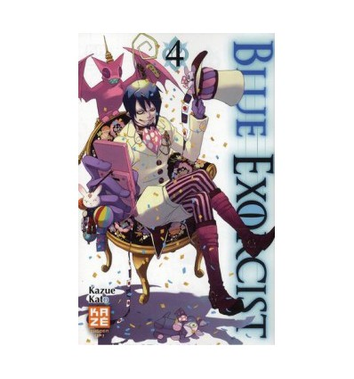 Blue Exorcist Tome 4